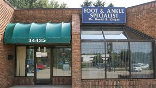 Foot Doctors' Podiatry office in Farmington, MI 48335